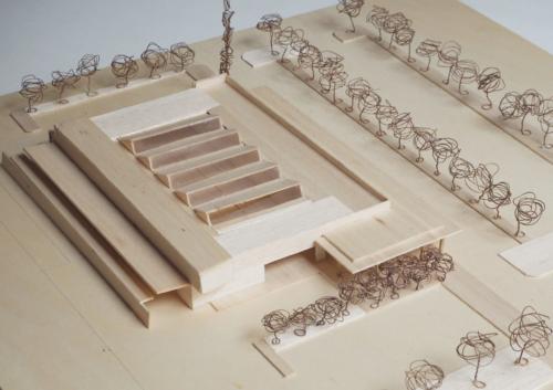 UpStudio architettura Viareggio Camaiore Versilia architetto Massimo Ceragioli edifici commerciali supermercato sigma Camaiore Via Roma