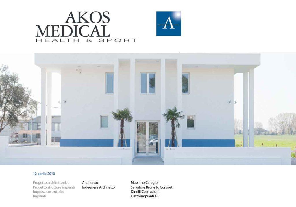 Up Studio Viareggio arch. Massimo Ceragioli edifici commercialiAkos Medical