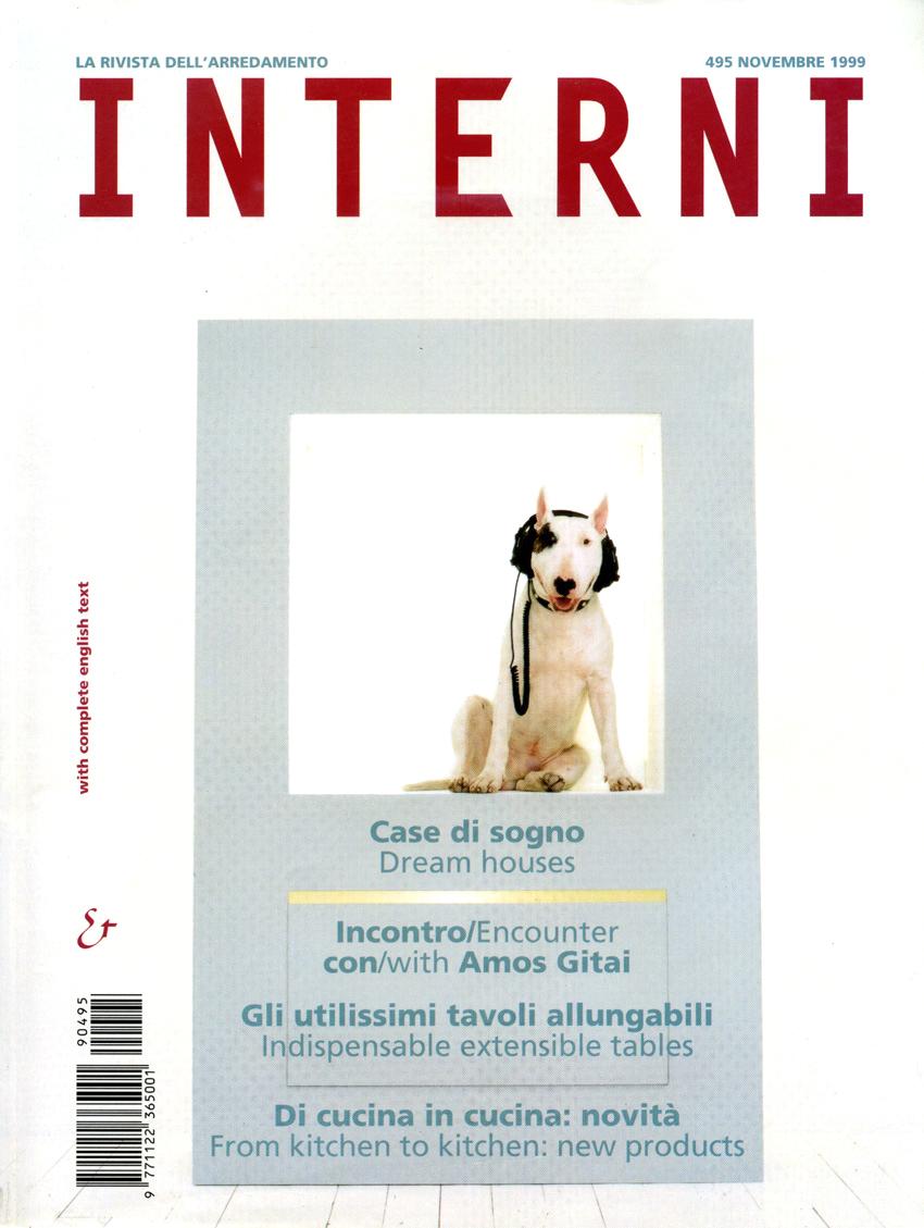 UpStudio Viareggio arch. Massimo Ceragioli pubblicazioni INTERNi casa Hamel